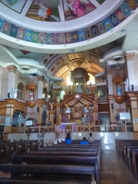 The Church inside.